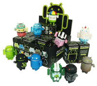 Wholesale Robot Toy Google Android Ornaments Series Figure Permanent Collectible set Christmas Gift