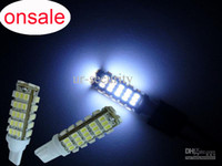 Wholesale 68 SMD LED Light T10 wedge bulb xenon white Car Side Wedge lamp