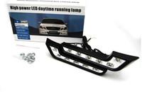 Wholesale Universal L type vehicle daytime running lights LED daytime running lights