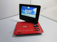 Wholesale 10pcs Cheap Price inch LCD Screen Portable DVD Player with TV Tuner Game