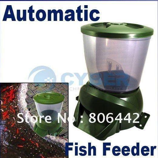 Best digital automatic pond fish feeder aquarium food for Best automatic fish feeder