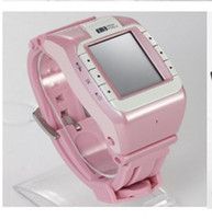 Wholesale Hot sale quot Rubber Band Wrist Watch Style Mobile Cell Phone Bluetooth Camera MP3 MP4 Player