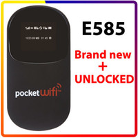 Wholesale UNLOCKED HUAWEI E585 POCKET WIFI G MIFI Wireless MODEM ROUTER