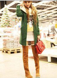 Women's Shoes,Over The Knee Boots,Suede Flat Boots US4-11 Best Christmas Gifts 1pcs
