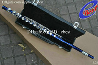 Wholesale YFL S blue Flute with case Made in Japan professional Woodwind NEW Arrival