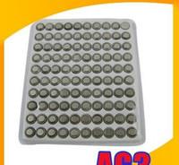 Wholesale 300pcs AG4 SR626 SR626SW SR66 Cell Coin Battery