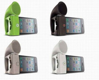 Wholesale phone speaker horn stand phone radiation proof product phone stand colors for choosing