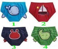 Boy Swim Trunks 12-18 Months Nissen baby boys' Swimwear Kids' pants Swim Triangle shorts trunks red green 2010 NEW 24 pcs lot