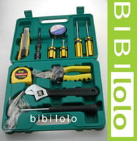 Wholesale 11 pieces and add the box Home Kit toolbox set L002