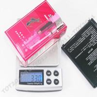 Wholesale New Coming g x g Digital Pocket Scale Jewelry Weight Scale Blue Backlight