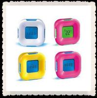 Wholesale Color Changing Clock Color LED Digital Alarm Clock with Calendar Multifunction
