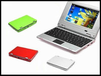 Wholesale Netbook PC Q701 UMPC WIFI CPU inch mini Laptop computer pocket PC notebook colors