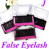 Wholesale 4 Tray Eyelash Extension MINK Lash Combo J Curl mm Black Adeal