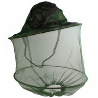 bee net hat - Fishing Hat Net Mask Fly Insect Mosquito Bee Camouflage K00813