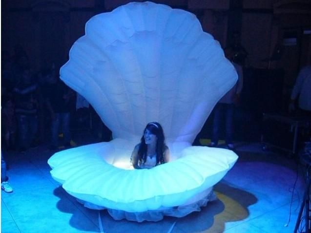3m Inflatable Shell Stage Decoration
