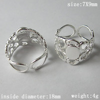 adjustable rings for jewelry making - Beadsnice finger ring with x8mm oval blank for jewelry making brass adjustable ring setting ID10622