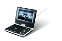 Wholesale 20pcs inch Portable DVD Player with Analog TV Game FM degree rotate