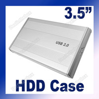 Wholesale USB IDE quot HDD Hard Disk Drive External Case Silver