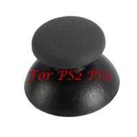Wholesale Controller Thumb Stick Joystick Cap For PS2 PS3 Brand New Black V4229BL