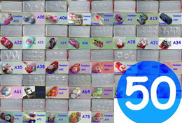 Wholesale 50pcs Acrylic Mold For D Nail Art Decoration free gift