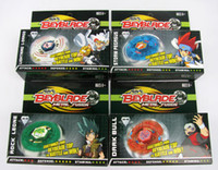 Wholesale 12 NEW Beyblade spin top toy beyblade metal fusion moxed mixed A7