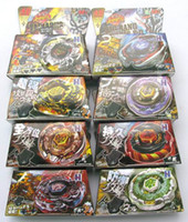 Wholesale 8 NEW Style Beyblade spin top toy beyblade metal fusion moxed mixed