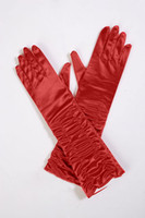Wholesale Red Gloves Wedding Apparel Accessories Bridal Accessories
