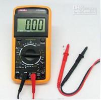 Wholesale Digital Volt Ammeter Ohm Test Meter Multimeter DT A LCD Digital Multimeter AC DC Ohm VOLT