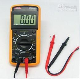 Digital Volt Ammeter Ohm Test Meter Multimeter DT-9205A LCD Digital Multimeter AC DC Ohm VOLT