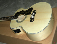 Wholesale best selling Acoustic Electric Guitar Natural with Fishman Pickups OEM Available