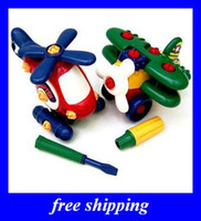 Wholesale NEW GIFTS PLANE Can tear open outfit Educational children s TOYS TOYS