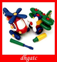 Wholesale birthday GIFTS PLANE Can tear open outfit Educational children s TOYS