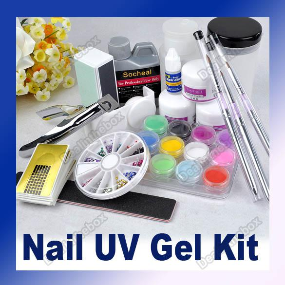 Wholesale Set Tool - Buy Full Acrylic Liquid French Nail Art Tip