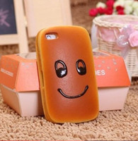 No apple bread - New arrival creative emulational bread case for phone high quality and cheap price
