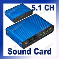 Wholesale USB Channel Optical Audio Sound Card S PDIF Exter