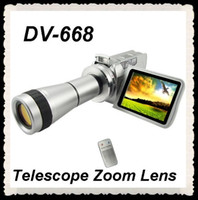 Wholesale Latest DV T Digital Camcorder telescope inch LCD screen MP3 Player Video Camera