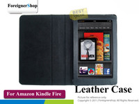 Wholesale 100 For Amazon Kindle Fire quot inch Tablet PU Folio Stand Leather Case Cover Skin
