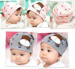 5pcs lot Infant cartoon cotton Hat,Baby fashion hats,Children's hair accessories,Children's Gift