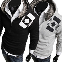 Wholesale Hot Selling Fashion design Men s winter Jacket with hat Men s quilted jacket Outwear men s coat