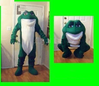 Unisex Animal Christmas Wholesale - Green Frog Mascot costume Adult Size!Free S H
