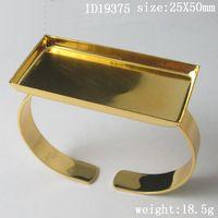 Wholesale Bracelet Brass pad X50mm ID19375 Nickel Free Lead Safe