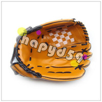 Wholesale free ship NEW baseball gloves inch soft PVC material Pitcher gloves left hand gloves