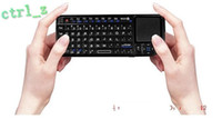 Wholesale Rii Mini Wireless Rii Mini PC Keyboard C709B with Touchpad Black with a handheld keyp