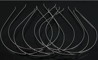 Wholesale Plain Sliver Metal Headbands Hair Band mm
