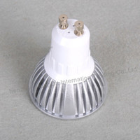 Wholesale 40 DIMMABLE LED BULB X3 LED CHIP HIGH POWER GU10 LED SPOTLIGHTS