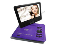 Wholesale 5pcs Hot selling Inch LCD Screen Portable DVD Player with TV and Swivel Screen Xmas Gift