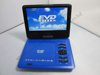 Wholesale 10pcs Good Quality inch LCD Screen Portable DVD Player with TV Tuner Game