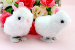 Wholesale Fun toys baby love clockwork toys rabbit can jump chain rabbit Wind up Toys Activity Amusement Toys Toys Gifts