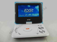 Wholesale 5pcs Good Quality inch Portable DVD Player with TV Game FM Copy Function