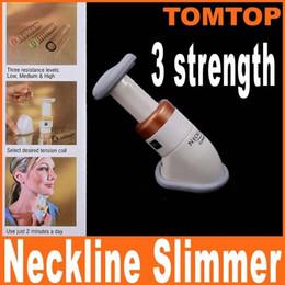 Wholesale Portable Neckline Slimmer Neck Exerciser Chin Massager Thin Jaw Reduce Double Thin H4826